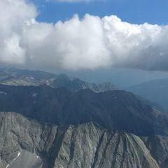 Flugwegposition um 13:35:22: Aufgenommen in der Nähe von Mallnitz, Österreich in 3175 Meter