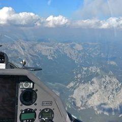 Flugwegposition um 15:11:09: Aufgenommen in der Nähe von Tragöß-Sankt Katharein, Österreich in 2889 Meter