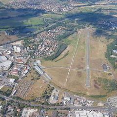 Flugwegposition um 15:10:41: Aufgenommen in der Nähe von Oberfranken, Deutschland in 786 Meter