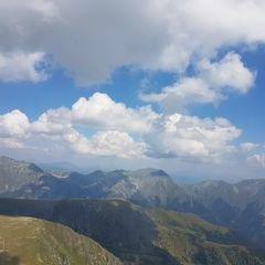 Flugwegposition um 10:55:35: Aufgenommen in der Nähe von Gemeinde Gaal, Österreich in 2400 Meter