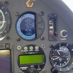 Flugwegposition um 14:30:21: Aufgenommen in der Nähe von 23030 Livigno, Sondrio, Italien in 4044 Meter