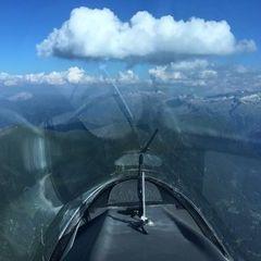 Flugwegposition um 15:31:05: Aufgenommen in der Nähe von Gemeinde Bad Hofgastein, 5630 Bad Hofgastein, Österreich in 2750 Meter