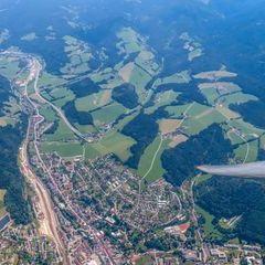 Flugwegposition um 10:29:20: Aufgenommen in der Nähe von Gemeinde Spital am Semmering, Österreich in 2548 Meter