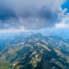 Flugwegposition um 12:42:38: Aufgenommen in der Nähe von Kleinsölk, 8961, Österreich in 2657 Meter