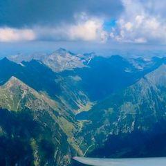 Flugwegposition um 12:50:34: Aufgenommen in der Nähe von Gössenberg, Österreich in 2754 Meter
