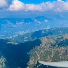 Flugwegposition um 12:50:29: Aufgenommen in der Nähe von Gössenberg, Österreich in 2757 Meter