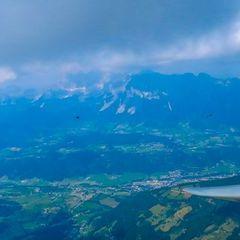 Flugwegposition um 12:50:55: Aufgenommen in der Nähe von Gössenberg, Österreich in 2735 Meter