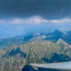Flugwegposition um 12:51:03: Aufgenommen in der Nähe von Gössenberg, Österreich in 2744 Meter