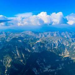 Flugwegposition um 14:16:44: Aufgenommen in der Nähe von St. Ilgen, 8621 St. Ilgen, Österreich in 2286 Meter