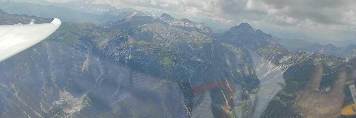 Flugwegposition um 10:20:07: Aufgenommen in der Nähe von Gemeinde Flachau, Österreich in 2431 Meter