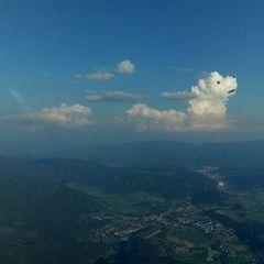 Flugwegposition um 16:33:45: Aufgenommen in der Nähe von Gai, 8793, Österreich in 2162 Meter
