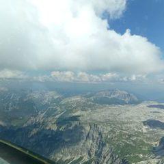 Flugwegposition um 14:52:44: Aufgenommen in der Nähe von Gemeinde Kleinarl, Österreich in 2817 Meter