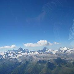 Flugwegposition um 13:24:20: Aufgenommen in der Nähe von Goms, Schweiz in 3691 Meter