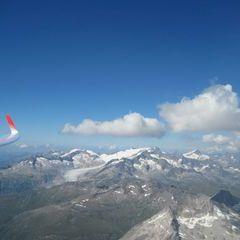 Flugwegposition um 13:40:57: Aufgenommen in der Nähe von Bezirk Leventina, Schweiz in 3527 Meter