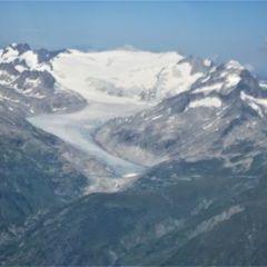 Flugwegposition um 13:35:17: Aufgenommen in der Nähe von Bezirk Leventina, Schweiz in 3546 Meter