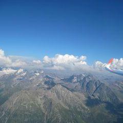 Flugwegposition um 16:06:49: Aufgenommen in der Nähe von Gemeinde St. Gallenkirch, Österreich in 2784 Meter