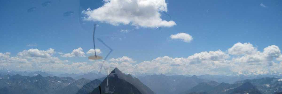 Flugwegposition um 11:41:44: Aufgenommen in der Nähe von Bezirk Inn, Schweiz in 3648 Meter