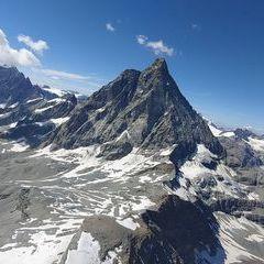 Verortung via Georeferenzierung der Kamera: Aufgenommen in der Nähe von 11028 Valtournenche, Aostatal, Italien in 3800 Meter