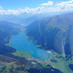 Verortung via Georeferenzierung der Kamera: Aufgenommen in der Nähe von Gemeinde Nauders, Österreich in 3400 Meter