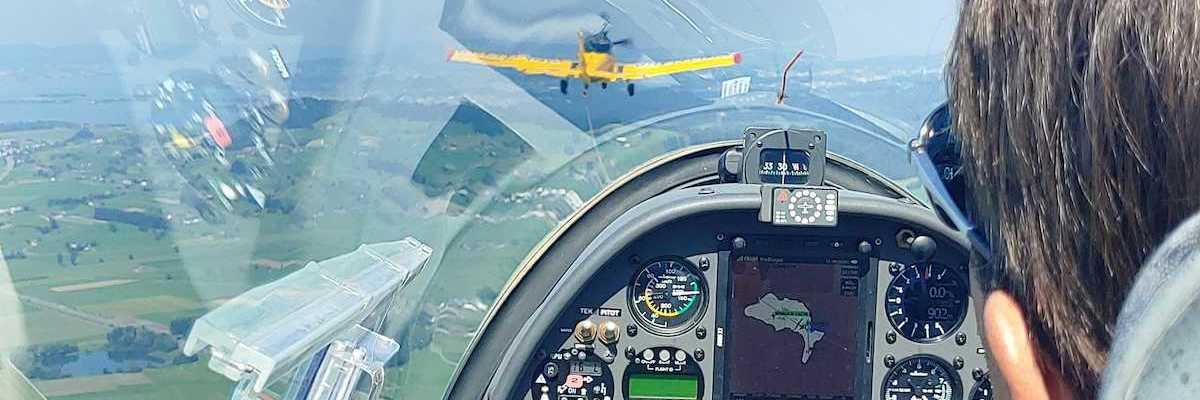 Verortung via Georeferenzierung der Kamera: Aufgenommen in der Nähe von See-Gaster, Schweiz in 1000 Meter