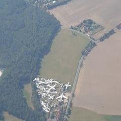 Flugwegposition um 13:14:34: Aufgenommen in der Nähe von Okres Plzeň-sever, Tschechien in 1515 Meter