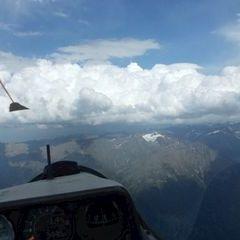 Flugwegposition um 14:44:38: Aufgenommen in der Nähe von Gemeinde Umhausen, 6441 Umhausen, Österreich in 3432 Meter