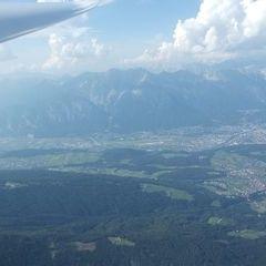 Flugwegposition um 15:03:59: Aufgenommen in der Nähe von Gemeinde Telfes im Stubai, Österreich in 2824 Meter