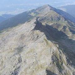Flugwegposition um 15:16:24: Aufgenommen in der Nähe von Gemeinde Wattenberg, Österreich in 2666 Meter