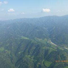 Flugwegposition um 14:15:27: Aufgenommen in der Nähe von Gemeinde Wald am Schoberpaß, 8781, Österreich in 2090 Meter