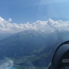 Verortung via Georeferenzierung der Kamera: Aufgenommen in der Nähe von Gemeinde Kaprun, Kaprun, Österreich in 3000 Meter