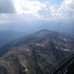 Flugwegposition um 13:36:34: Aufgenommen in der Nähe von Gemeinde Volders, Österreich in 2993 Meter