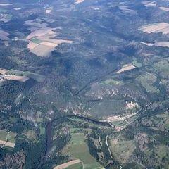 Verortung via Georeferenzierung der Kamera: Aufgenommen in der Nähe von Gemeinde Ludweis-Aigen, Österreich in 2000 Meter