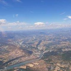 Flugwegposition um 11:42:15: Aufgenommen in der Nähe von Département Alpes-de-Haute-Provence, Frankreich in 2066 Meter