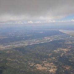Flugwegposition um 14:21:19: Aufgenommen in der Nähe von Département Alpes-de-Haute-Provence, Frankreich in 2993 Meter