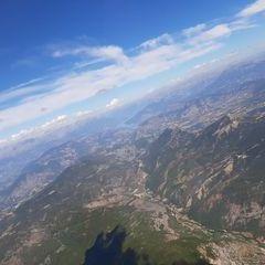 Flugwegposition um 13:28:43: Aufgenommen in der Nähe von Département Alpes-de-Haute-Provence, Frankreich in 2646 Meter