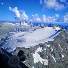 Flugwegposition um 15:16:56: Aufgenommen in der Nähe von Gemeinde Bad Gastein, Bad Gastein, Österreich in 3192 Meter