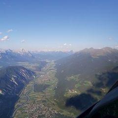 Flugwegposition um 16:08:03: Aufgenommen in der Nähe von Gemeinde Haiming, Österreich in 2326 Meter