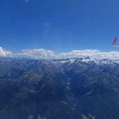Flugwegposition um 12:27:05: Aufgenommen in der Nähe von Gemeinde Bramberg am Wildkogel, Österreich in 3226 Meter
