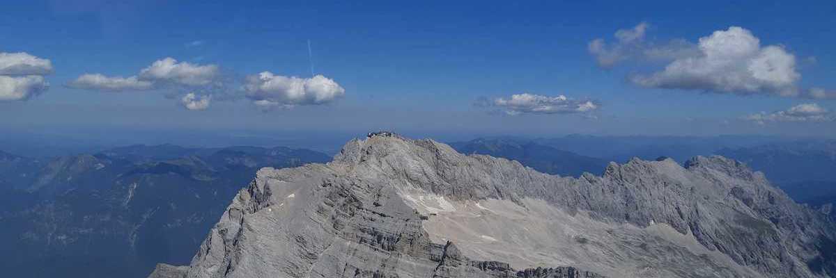 Flugwegposition um 11:20:38: Aufgenommen in der Nähe von Gemeinde Ehrwald, Ehrwald, Österreich in 2917 Meter