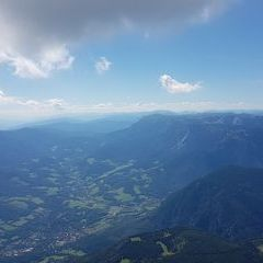 Flugwegposition um 13:06:32: Aufgenommen in der Nähe von Gemeinde Bürg-Vöstenhof, 2630, Österreich in 2132 Meter