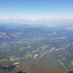 Flugwegposition um 13:26:54: Aufgenommen in der Nähe von Gemeinde Spital am Semmering, Österreich in 2579 Meter