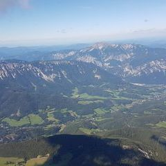 Flugwegposition um 13:26:58: Aufgenommen in der Nähe von Gemeinde Spital am Semmering, Österreich in 2579 Meter