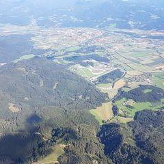 Flugwegposition um 14:37:04: Aufgenommen in der Nähe von Gemeinde Fohnsdorf, Fohnsdorf, Österreich in 2064 Meter