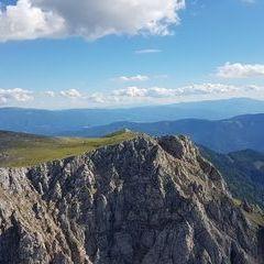 Flugwegposition um 14:13:09: Aufgenommen in der Nähe von Gai, 8793, Österreich in 2073 Meter