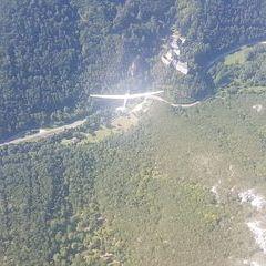 Flugwegposition um 13:52:21: Aufgenommen in der Nähe von Gemeinde Ternitz, Österreich in 1209 Meter