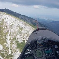 Verortung via Georeferenzierung der Kamera: Aufgenommen in der Nähe von Gemeinde Reichenau an der Rax, Österreich in 1900 Meter