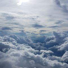 Flugwegposition um 15:17:52: Aufgenommen in der Nähe von Gußwerk, Österreich in 3400 Meter