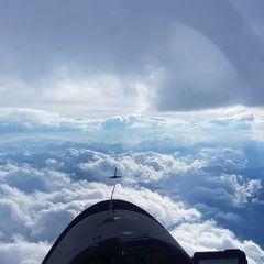 Verortung via Georeferenzierung der Kamera: Aufgenommen in der Nähe von Gemeinde Thörl, Österreich in 3900 Meter