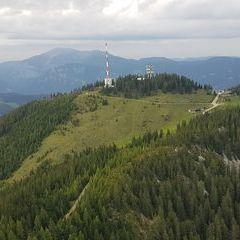 Verortung via Georeferenzierung der Kamera: Aufgenommen in der Nähe von Gemeinde Schottwien, Österreich in 1600 Meter