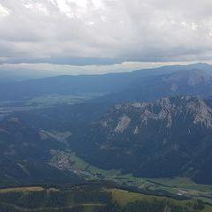 Verortung via Georeferenzierung der Kamera: Aufgenommen in der Nähe von Hafning bei Trofaiach, Österreich in 2600 Meter